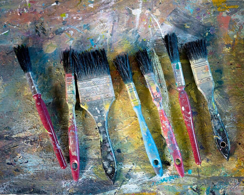 Paint brushes by eyeshoot
