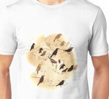 Birds of a Feather graphic print Unisex T-Shirt
