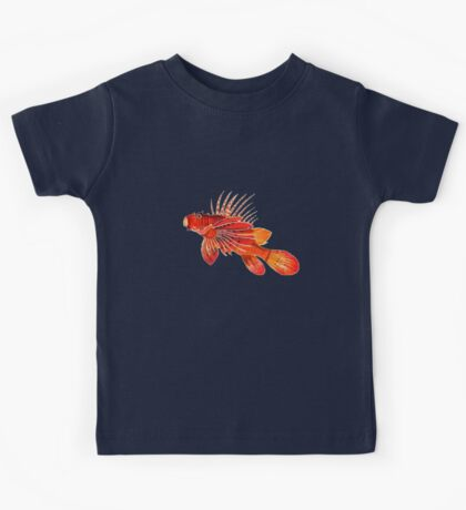 Lionfish Isolated Kids Tee