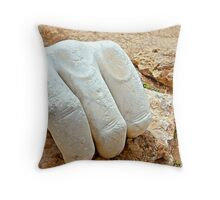 HERCULES FIST Throw Pillow