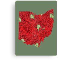 Ohio Flowers Canvas Print