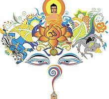 Buddha by amekamura