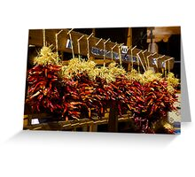hot chillies Greeting Card