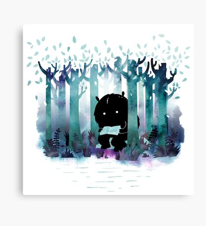 A Quiet Spot Canvas Print