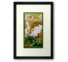 Pool of Life Framed Print
