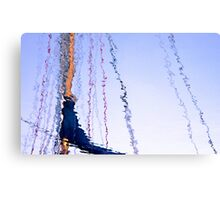 Squiggly Lines Canvas Print