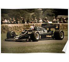 Senna Lotus Poster