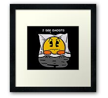 I see ghosts Framed Print
