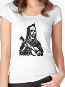 Mexican Day Of The Dead Women's Fitted Scoop T-Shirt