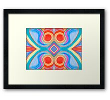 Color Doodles Framed Print