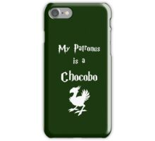 My Patronus is a Chocobo iPhone Case/Skin
