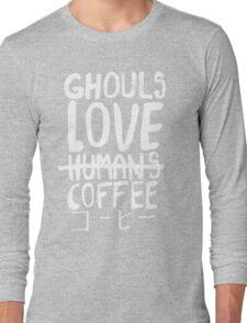 Ghouls love coffee Long Sleeve T-Shirt