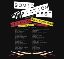 Sonic Fiction Fest by rexraygun