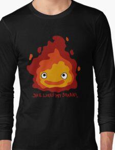 She likes my spark! Long Sleeve T-Shirt