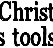 All I Want for Christmas is Tools Sticker
