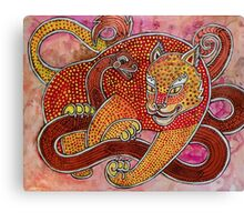 Leopard and Snake Canvas Print