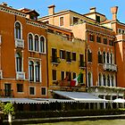 Venice restaurants on the canal by KSKphotography