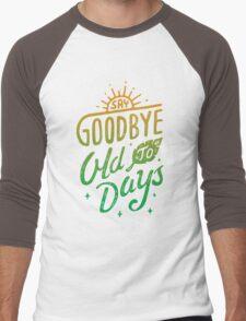 Old Days Men's Baseball ¾ T-Shirt
