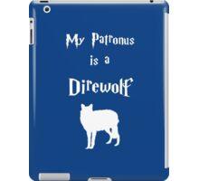 My Patronus is a Direwolf iPad Case/Skin