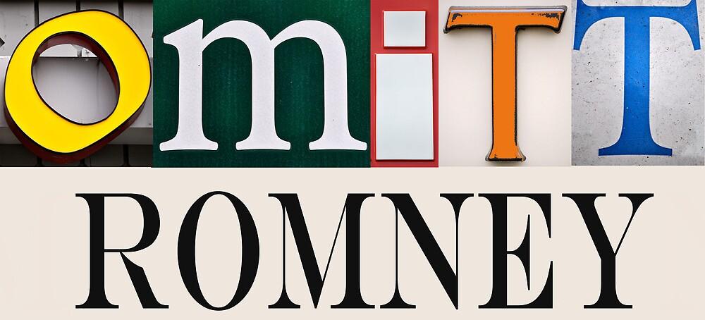 Omitt Romney by jotwood