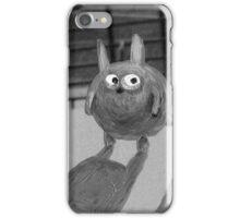 bunny noir iPhone Case/Skin