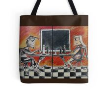 The Chess Game Tote Bag
