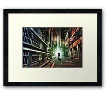 Magic Man Framed Print