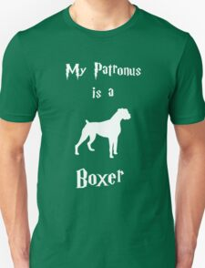 My Patronus is a Boxer (Different Layout) T-Shirt