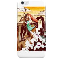 The Pirate and the Mermaid Case iPhone Case/Skin