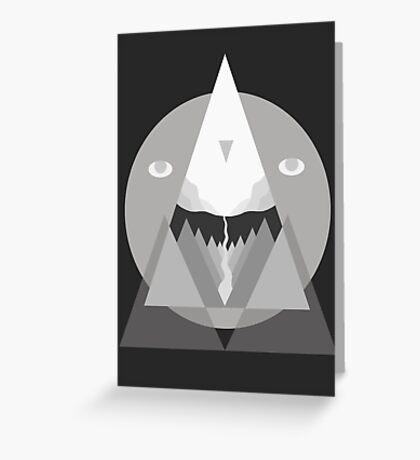 Geometric Landscape Greeting Card