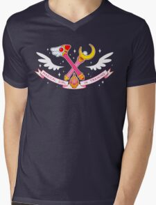 MAGICAL GIRL IN TRAINING Mens V-Neck T-Shirt