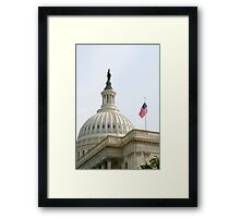 ...o'er the land of the free... Framed Print