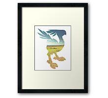 CHOCOBO Framed Print
