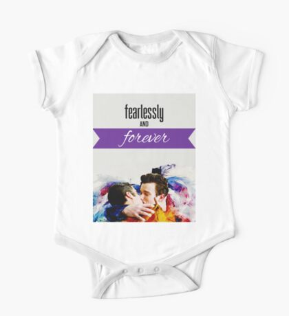 Fearlessly And Forever (Klaine) One Piece - Short Sleeve
