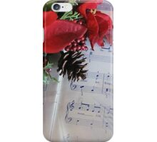 Ode to Christmas Joy iPhone Case/Skin