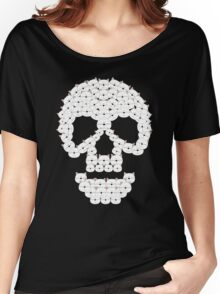 Cats and Skulls  Women's Relaxed Fit T-Shirt