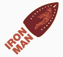 Hot IRONMAN t-shirt by ethnographics