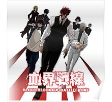 Kekkaisensen - Blood Blockade Battlefront Poster