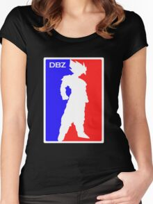 Major League Dragon Ball Women's Fitted Scoop T-Shirt