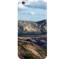 Lake and mountain view near Johnston's Ridge iPhone Case/Skin