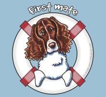 Springer Spaniel :: First Mate Kids Tee