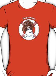 Springer Spaniel :: First Mate T-Shirt