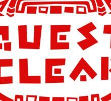 MONSTER HUNTER 4 - QUEST CLEAR Sticker