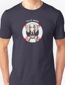 Weimaraner :: First Mate T-Shirt