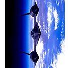 USAF SR71 Blackbird by dvampyrelestat