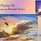 """""""Flying into the light"""" to """"Erupting sky"""" by Elisabeth Dubois"""