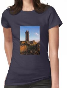 Scrabo, Newtownards. (Please Enlarge) Womens Fitted T-Shirt