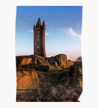 Scrabo, Newtownards. (Please Enlarge) Poster