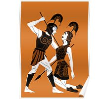 The Tragic Tale of Achilles and Penthesilea Poster