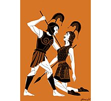 The Tragic Tale of Achilles and Penthesilea Photographic Print